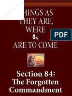 Section 84 - The Forgotten Commandment