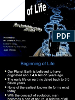 Orgin of life and organic Evolution