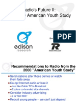 Edison Research American Youth Study Radios Future