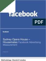 Sydney Opera House Brand Impact Study