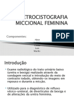 URETROCISTOGRAFIA MICCIONAL FEMININA