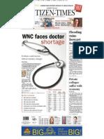 WNC Faces Doctor Shortage