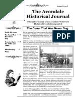 Avondale Historical Journal Vol. 1 Issue 9