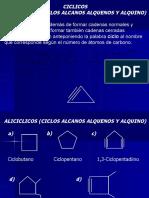 quimica organica ciclos