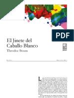 El Jinete Del Caballo Blanco Theodor Storm
