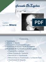 Transformada de Laplace-Juan Toribio Milané