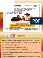 Diapositivas Peoceso de Comprension Lectora