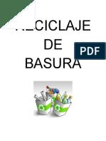 Proyecto Reciclaje de Basura