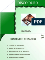 Presentacion Disco Duro