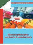 18464686 Manual de Equidad de Genero Para Docentes de Educacion Primaria