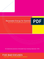 Renewable Energy for Dummies