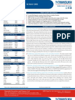 MARKET OUTLOOK FOR 18 May - CAUTIOUSLY OPTIMISTIC