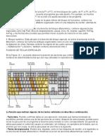 Division, Partes y Funcion de Las Teclas, Division Teclado