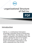 Organizational Structure of Dell Inc