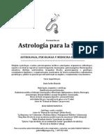 Formación en Astrología Médica