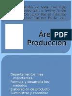 Área produccion