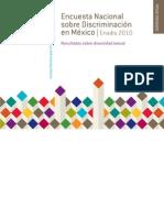 Informe - Encuesta Nacional sobre Discriminación (Enadis - 2011) Conapred