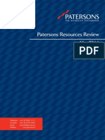 Patersons Resources Review May 2011
