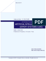 International Journal of Artificial Intelligence and Expert Systems (IJAE) Volume (2) Issue (1)
