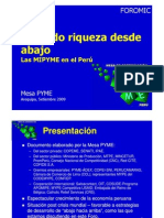 PRODUCE PERÚ- Caracterizacion de las empresas a nivel nacional
