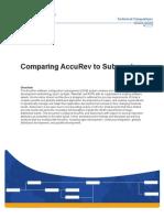 Accurev Subversion Analysis