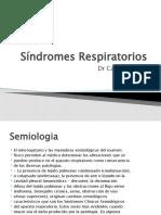 Sndromes Respiratorios