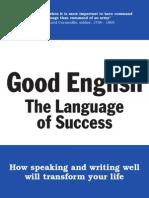 Good English - The Language of Success