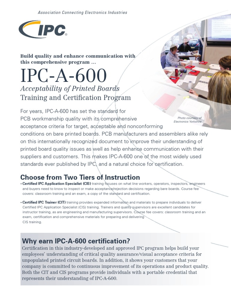 Cert 600 Professional Certification Printed Circuit Board