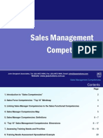1 Sales Management Competencies