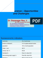 Healthinsurance,Oppurtunities & Challenges