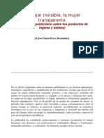 La mujer invisible.sociología consumo publicidad.análisis,Jose Maria Perez 1997