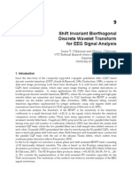 Shift Invariant Biorthogonal Discrete Wavelet Transform for Eeg Signal Analysis