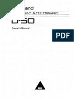 Roland D-50 Manual