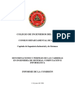 INFORME DE COMISION