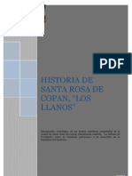 Historia de Santa Rosa de Copán