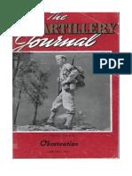 Field Artillery Journal - Jan 1942