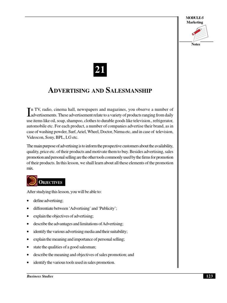 Define Advertise