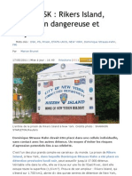 Le Figaro - DSK Rikers Island, Une Prison Dang Ere Use Et Bruyante