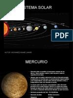 Sistema Solar Casi Terminado
