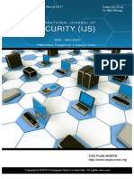 International Journal of Security (IJS) Volume 5 Issue 1
