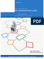 International Journal of Software Engineering (IJSE) Volume 2 Issue 1