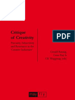 Critique of Creativity
