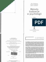 Shaughnessy J. J., Zechmeister E. B. - Metody Badawcze w Psychologii