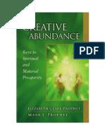 Creative Abundance -Elizabeth Clare Prophet,Mark L. Prophet