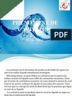 PHENOMENE DE CAVITATION