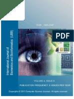 International Journal of Bio Metrics and tics (IJBB) Volume 4 Issue 6