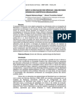 BACHELARD E A EDUCAÇÃO EM CIÊNCIAS- UMA REVISÃO