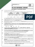 Analista de Sistemas Junior