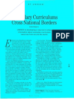 Examplary Curriculums Accross the Boarders- 1996