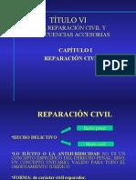 REPARACIÓN CIVIL  CONSECUENCIAS ACCESORIAS